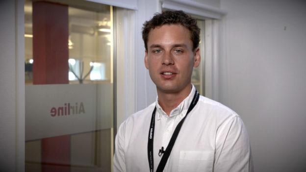 Porträtt Daniel Femerström
