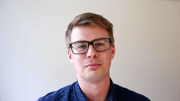 Porträtt Johan Rutfors Isaksson