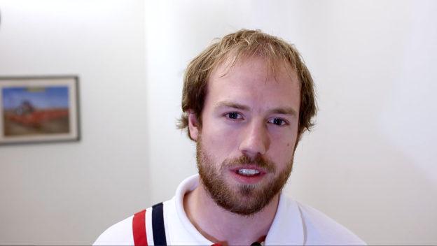 Porträtt Oskar Gunnarsson